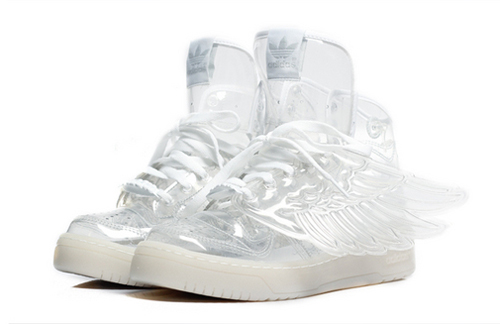 Adidas Jeremy Scott WINGS transparent trainers | Adidas