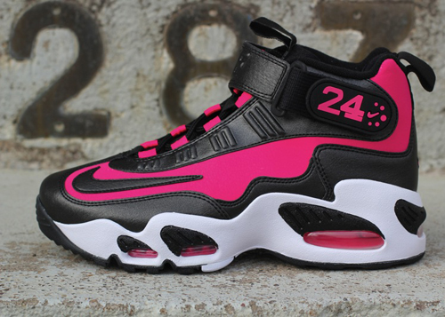 new product f7157 814e9 Nike Air Griffey Max 1 Black Pink