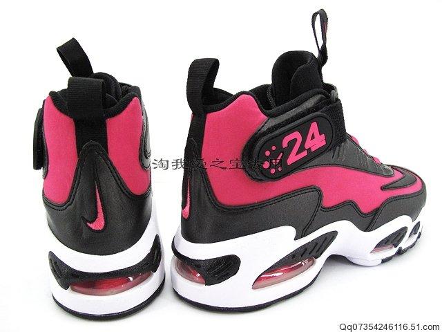 nike air griffey max 1 black pink arrognt empire ar 183 ro