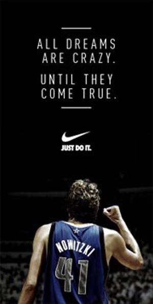 "online store 17ecb aacf4 Nike's Dirk Nowitzki Ad – ""All Dreams Are Crazy"" | ARROGNT ..."